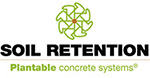 Soil Retention - Plantable Concrete Systems
